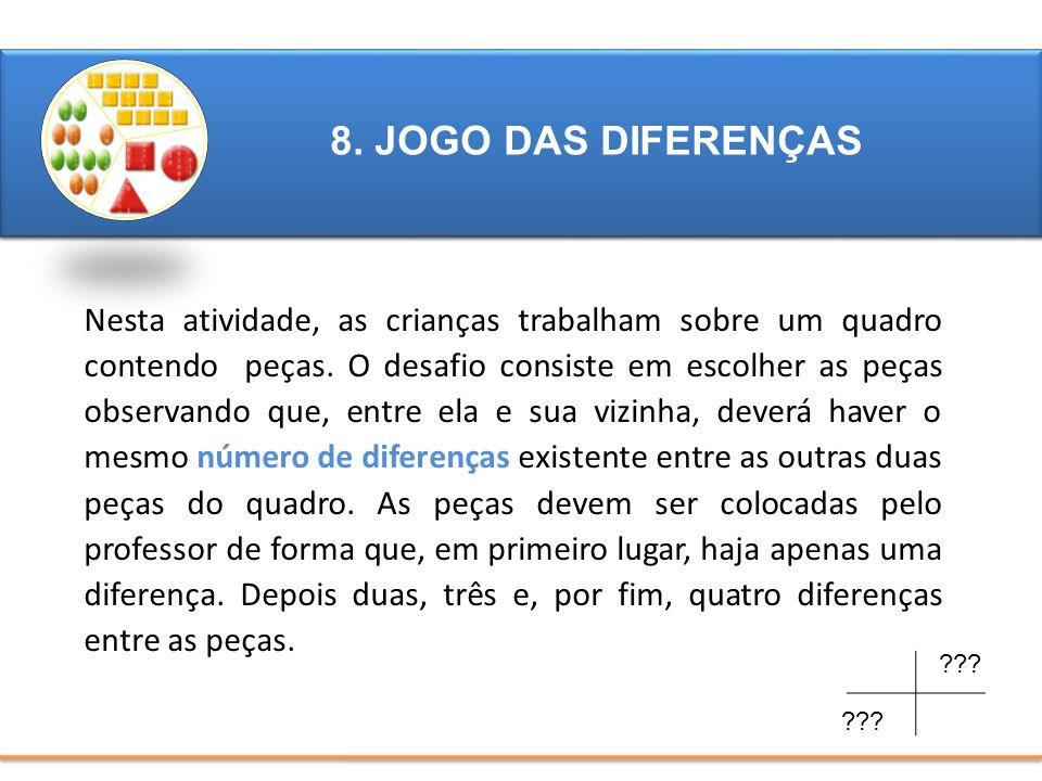 8. JOGO DAS DIFERENÇAS 4. JOGO DAS DIFERENÇAS