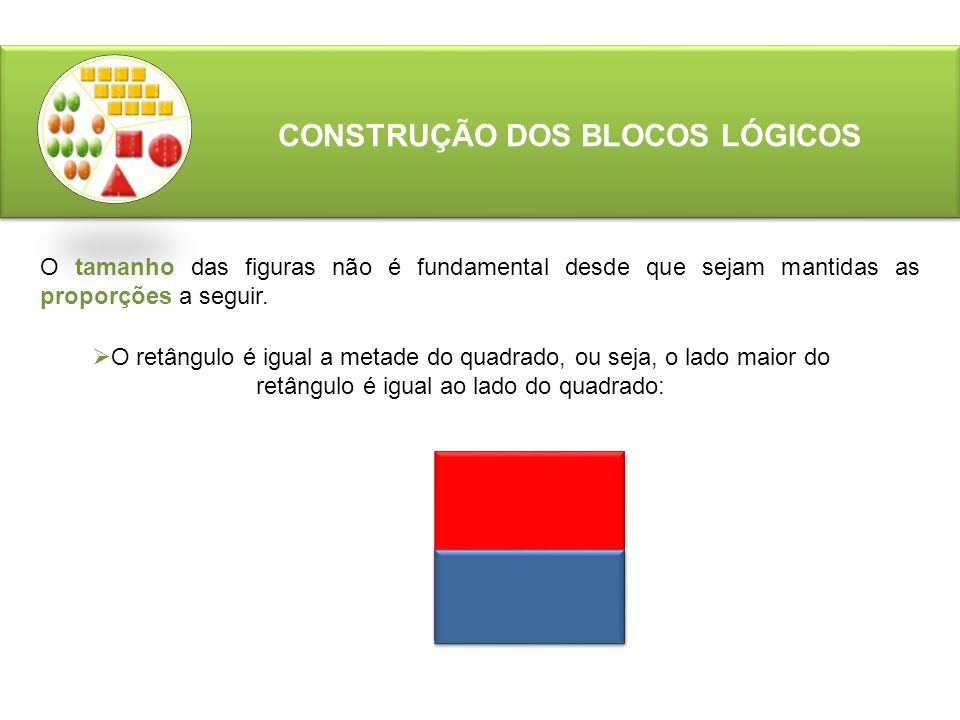 CONSTRUÇÃO DOS BLOCOS LÓGICOS