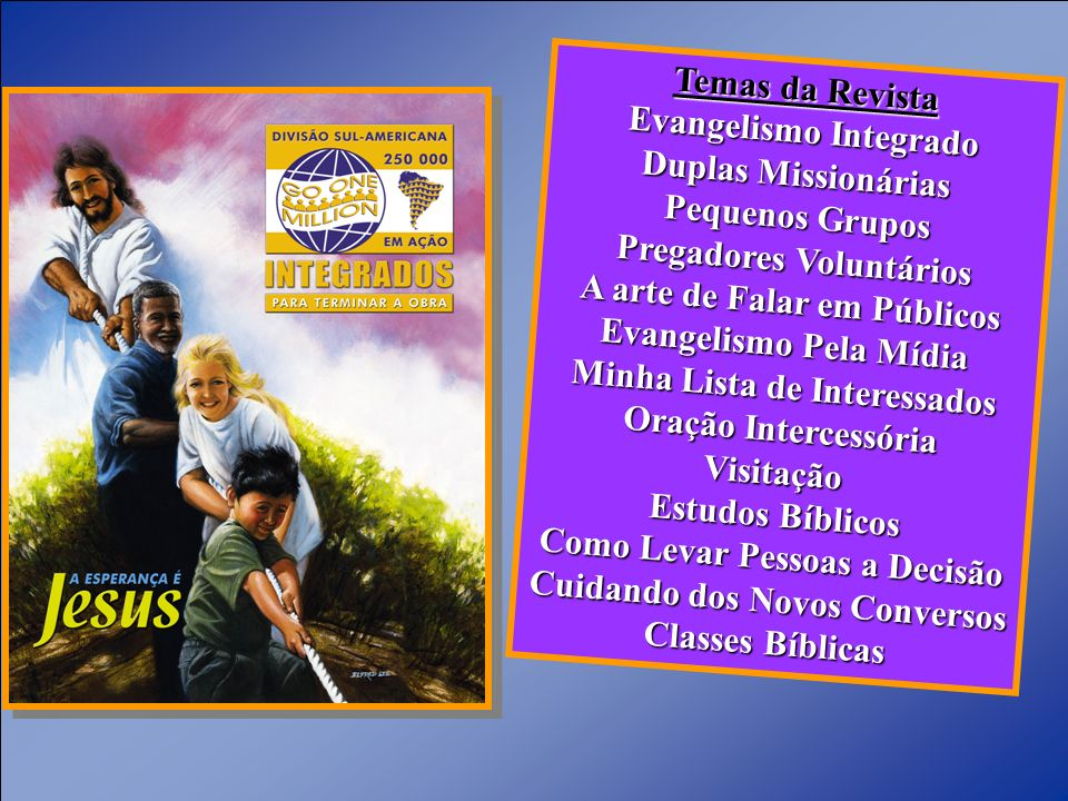 Evangelismo Integrado Duplas Missionárias Pequenos Grupos