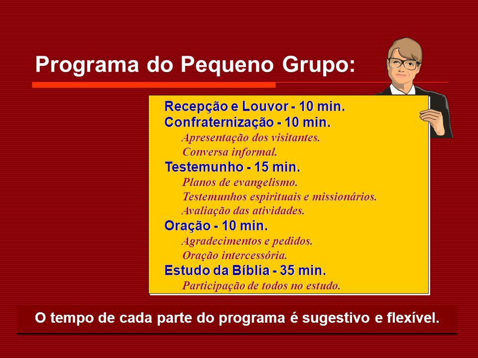 Programa do Pequeno Grupo: