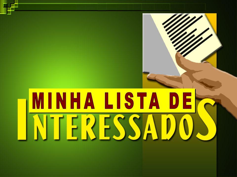 MINHA LISTA DE