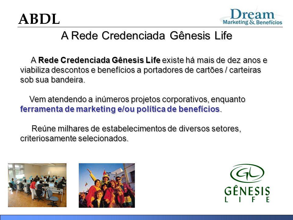A Rede Credenciada Gênesis Life