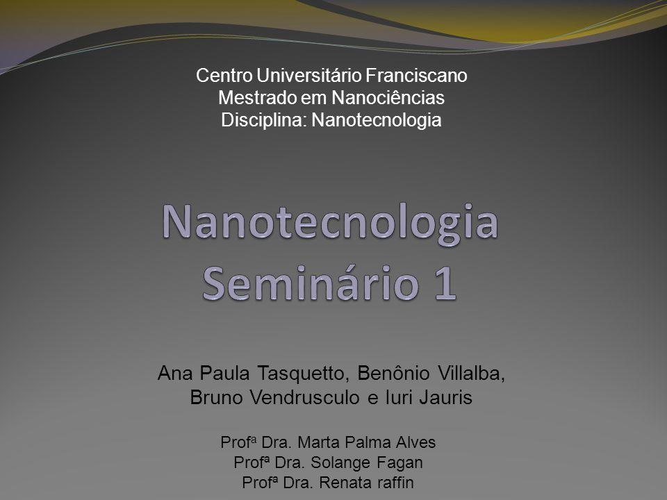 Nanotecnologia Seminário 1