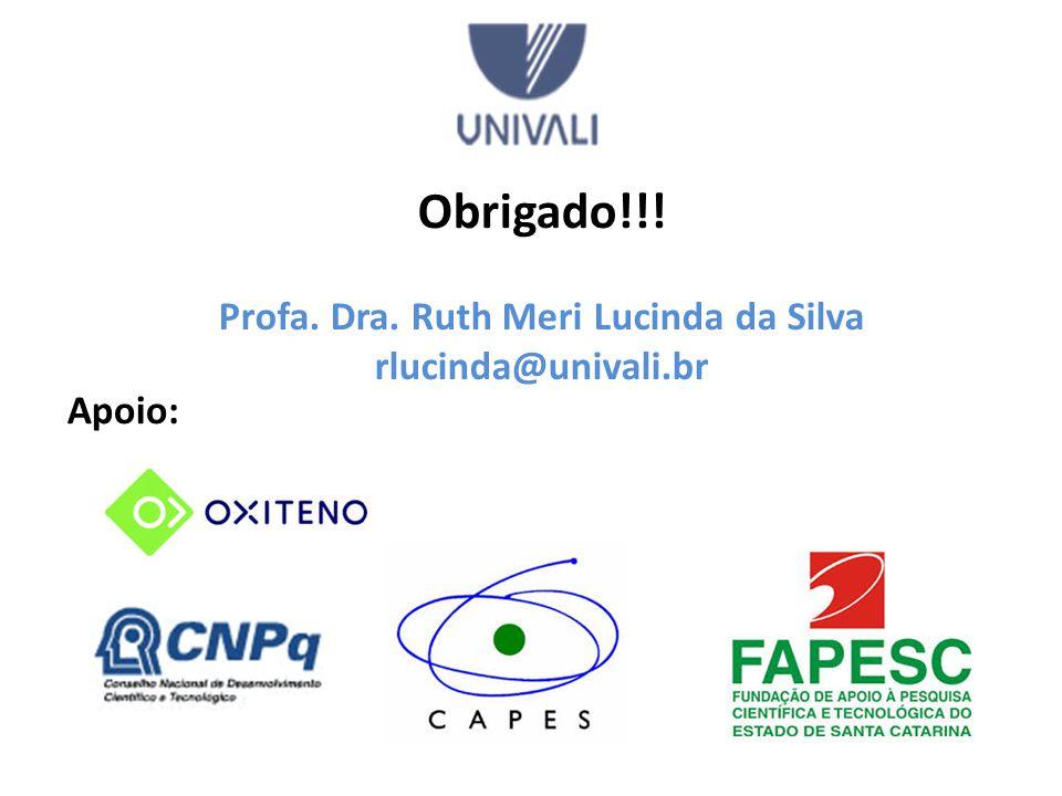 Profa. Dra. Ruth Meri Lucinda da Silva