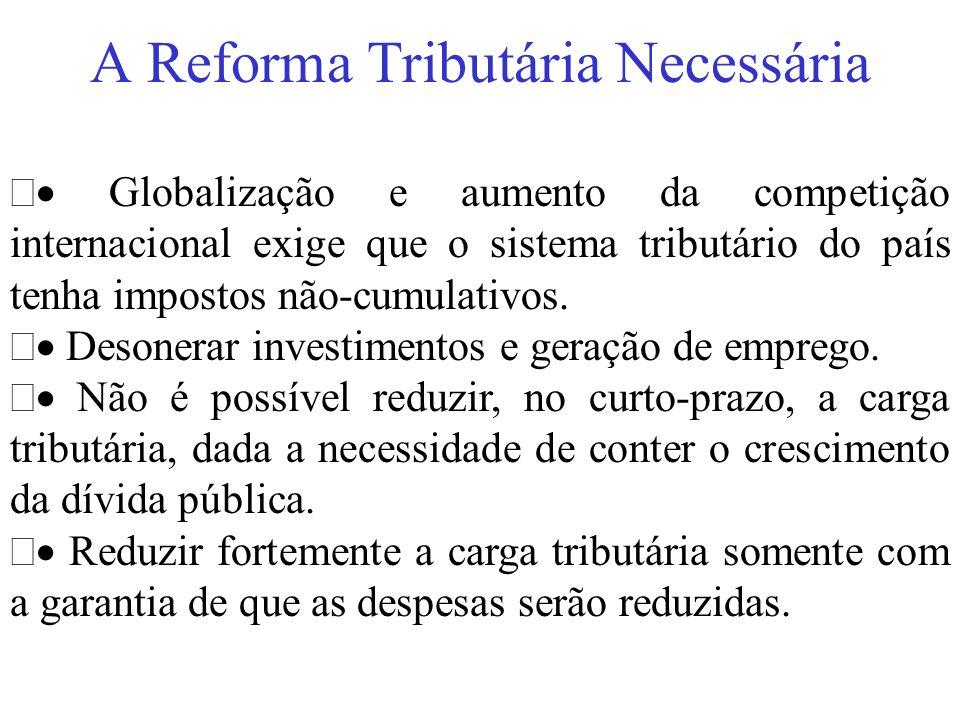 A Reforma Tributária Necessária
