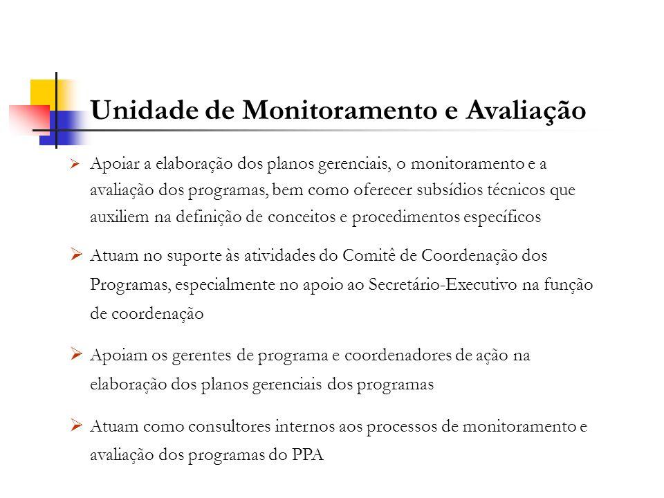 Unidade de Monitoramento e Avaliação