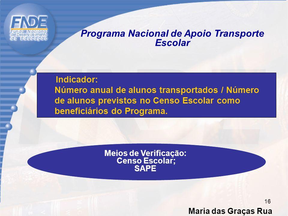 Programa Nacional de Apoio Transporte Escolar