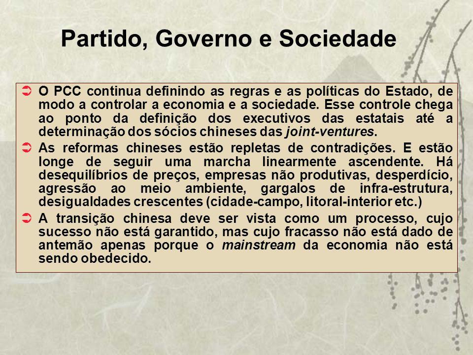 Partido, Governo e Sociedade