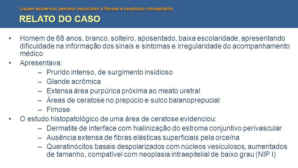 RELATO DO CASO