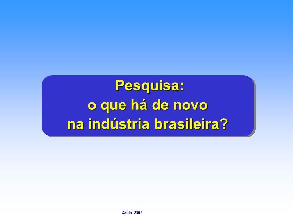 na indústria brasileira