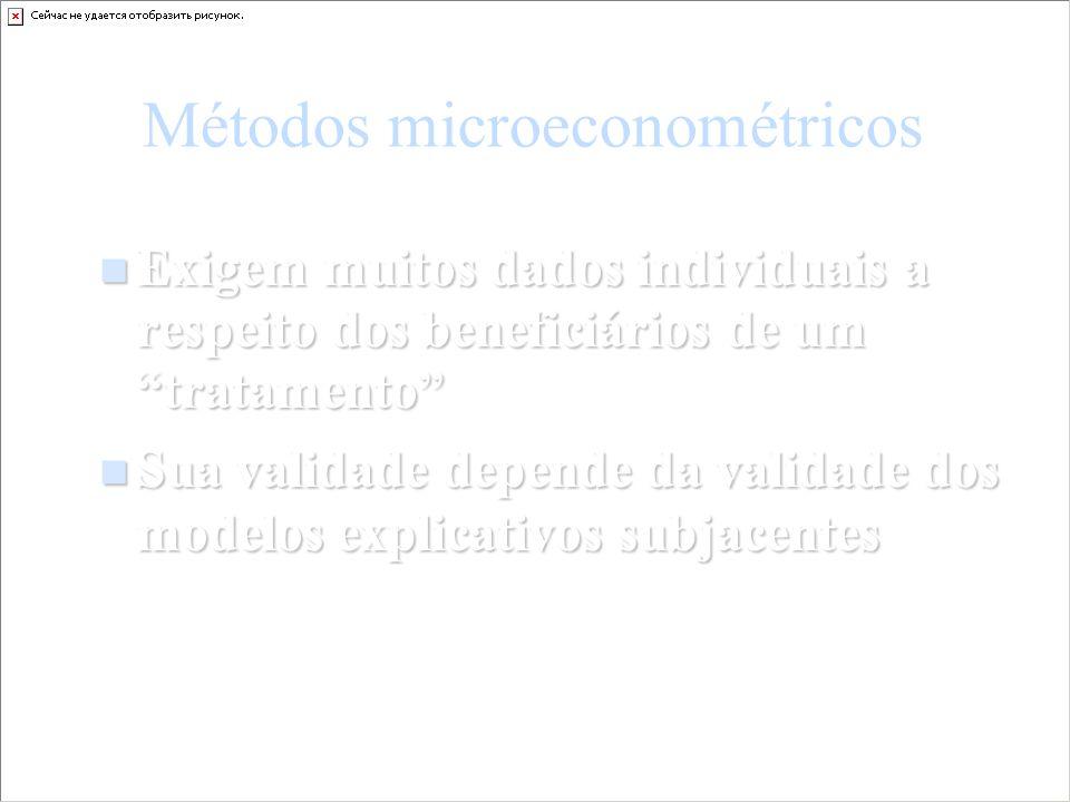 Métodos microeconométricos