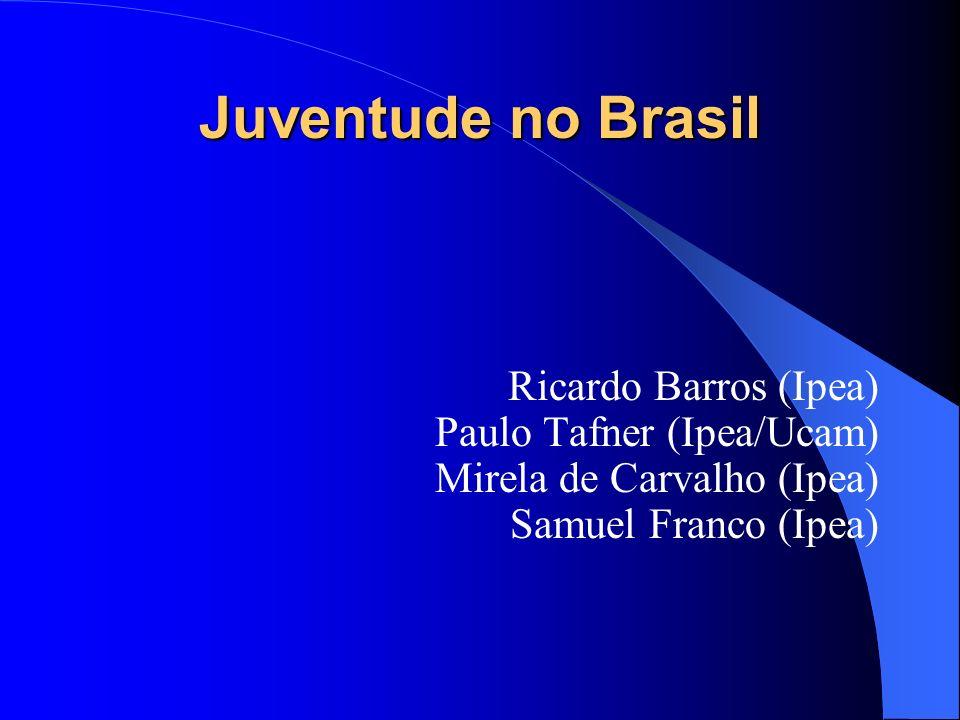 Juventude no Brasil Ricardo Barros (Ipea) Paulo Tafner (Ipea/Ucam)
