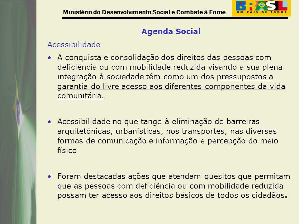 Agenda Social Acessibilidade.