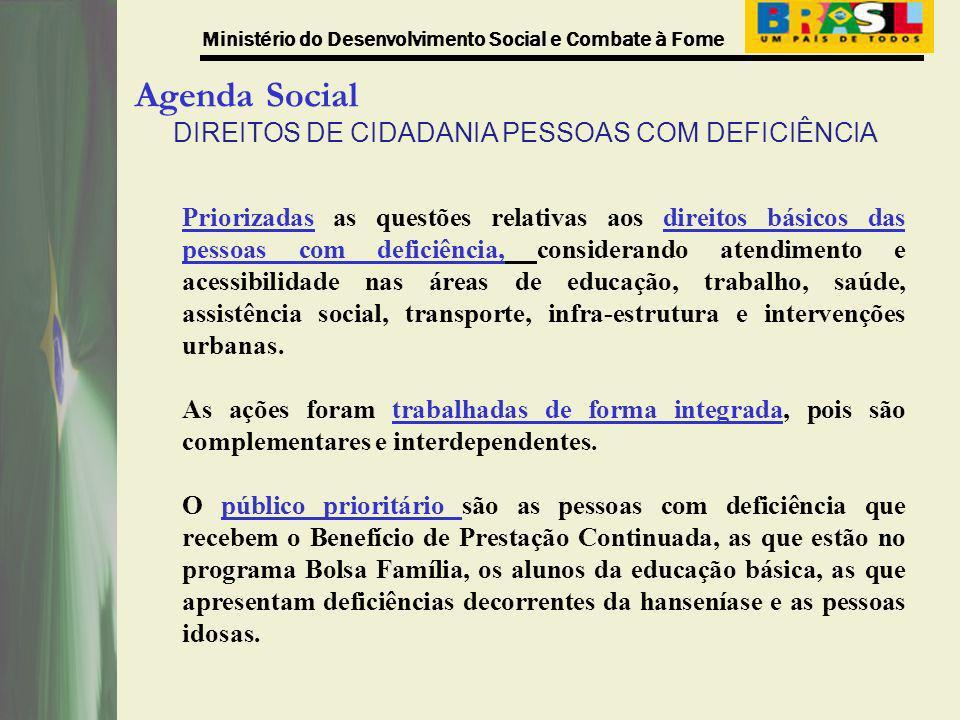 DIREITOS DE CIDADANIA PESSOAS COM DEFICIÊNCIA