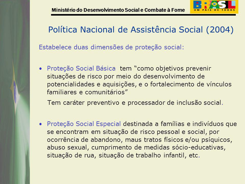 Política Nacional de Assistência Social (2004)