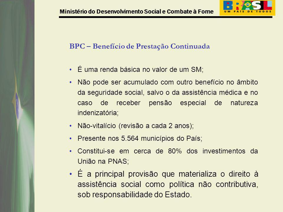 BPC – Benefício de Prestação Continuada