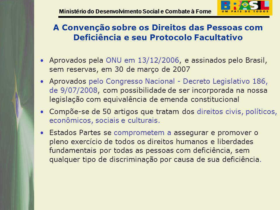A Convenção sobre os Direitos das Pessoas com Deficiência e seu Protocolo Facultativo