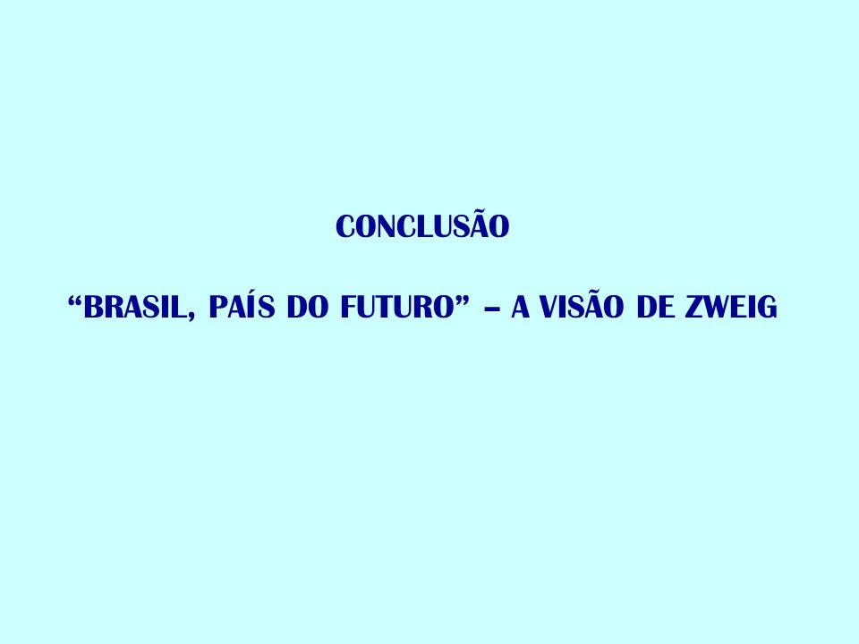 BRASIL, PAÍS DO FUTURO – A VISÃO DE ZWEIG