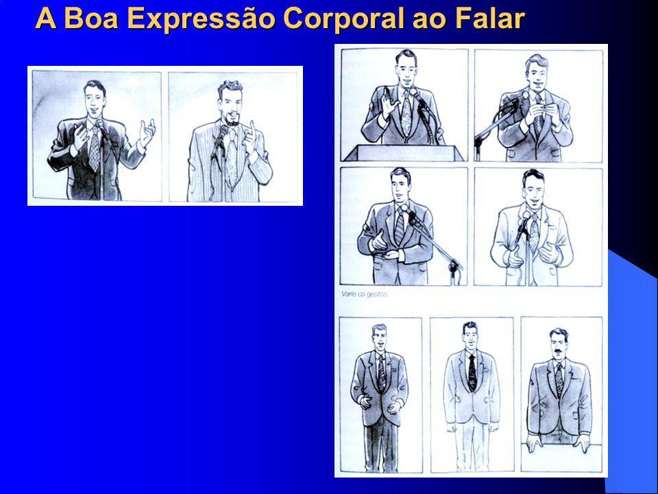 A Boa Expressão Corporal ao Falar