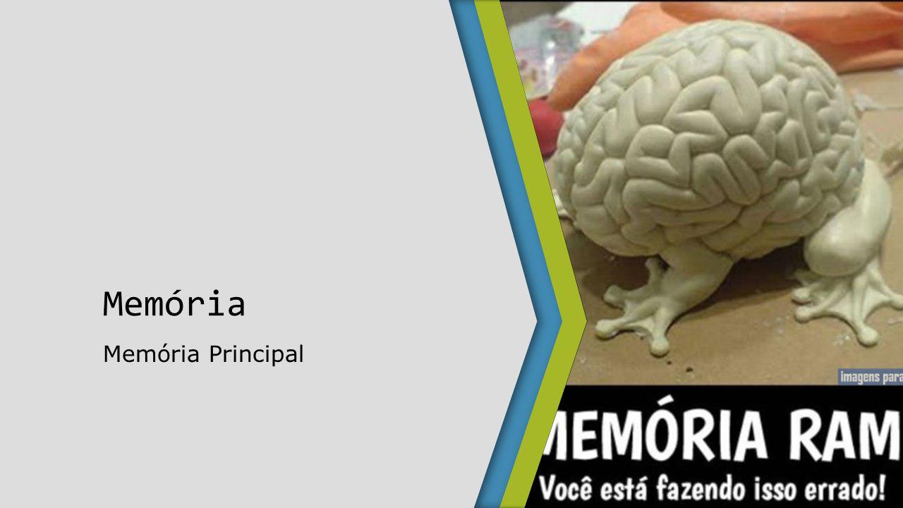 Memória Memória Principal