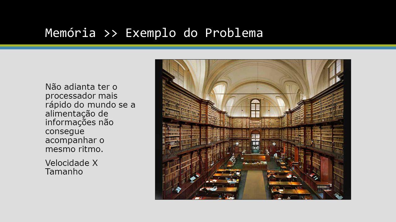 Memória >> Exemplo do Problema