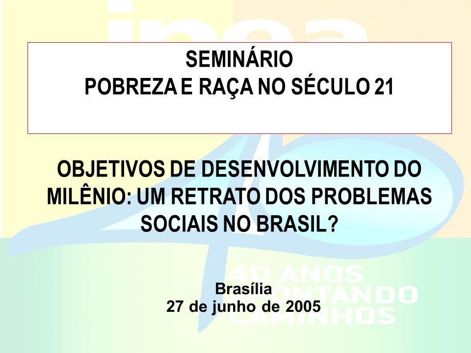 POBREZA E RAÇA NO SÉCULO 21