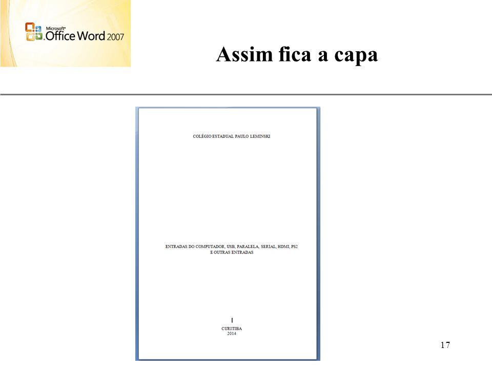 Assim fica a capa Aulas de Informática – prof. André Aparecido da Silva.