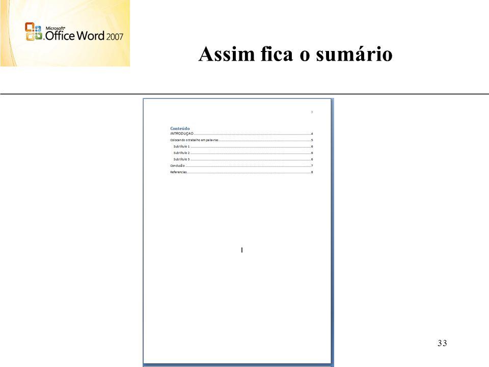 Assim fica o sumário Aulas de Informática anndrepr@yahoo.com.br