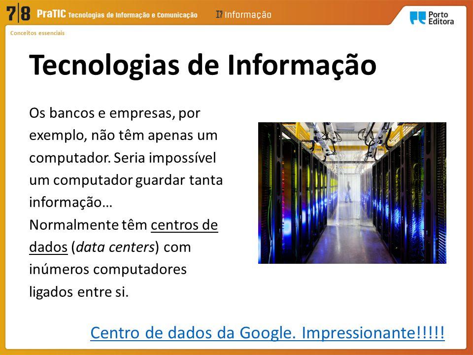 Centro de dados da Google. Impressionante!!!!!