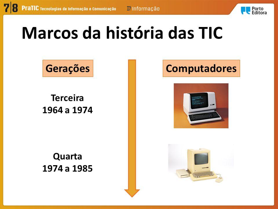 Marcos da história das TIC