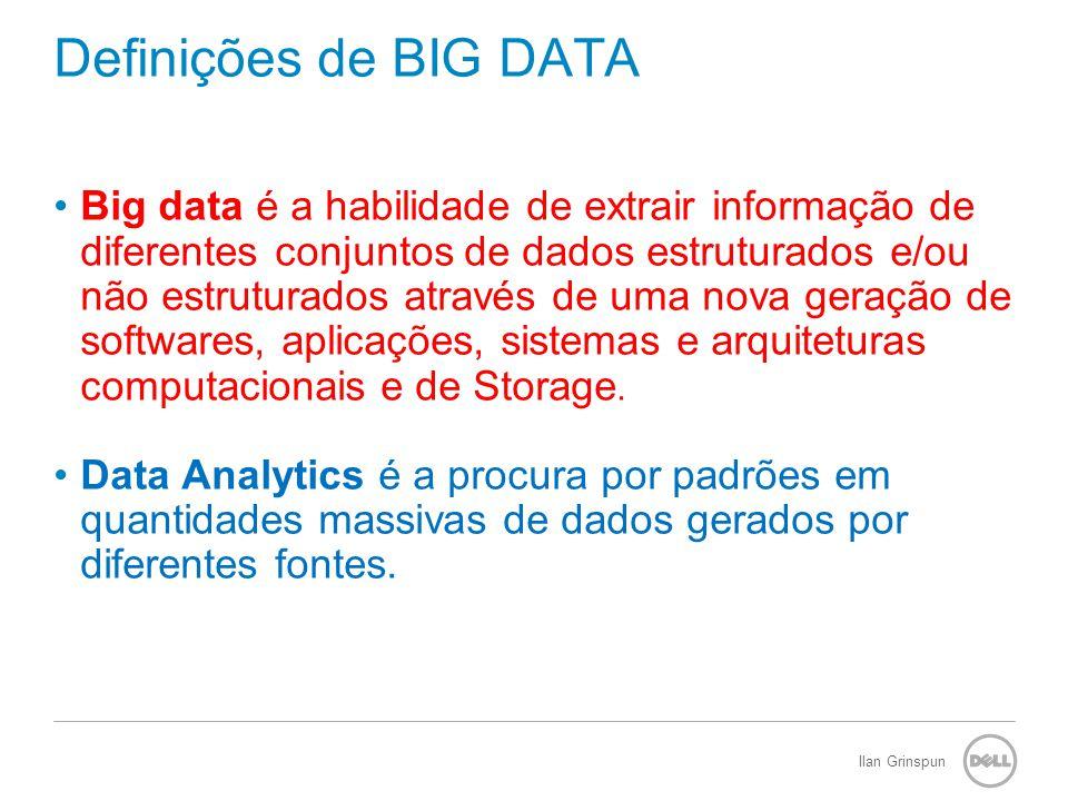 Definições de BIG DATA