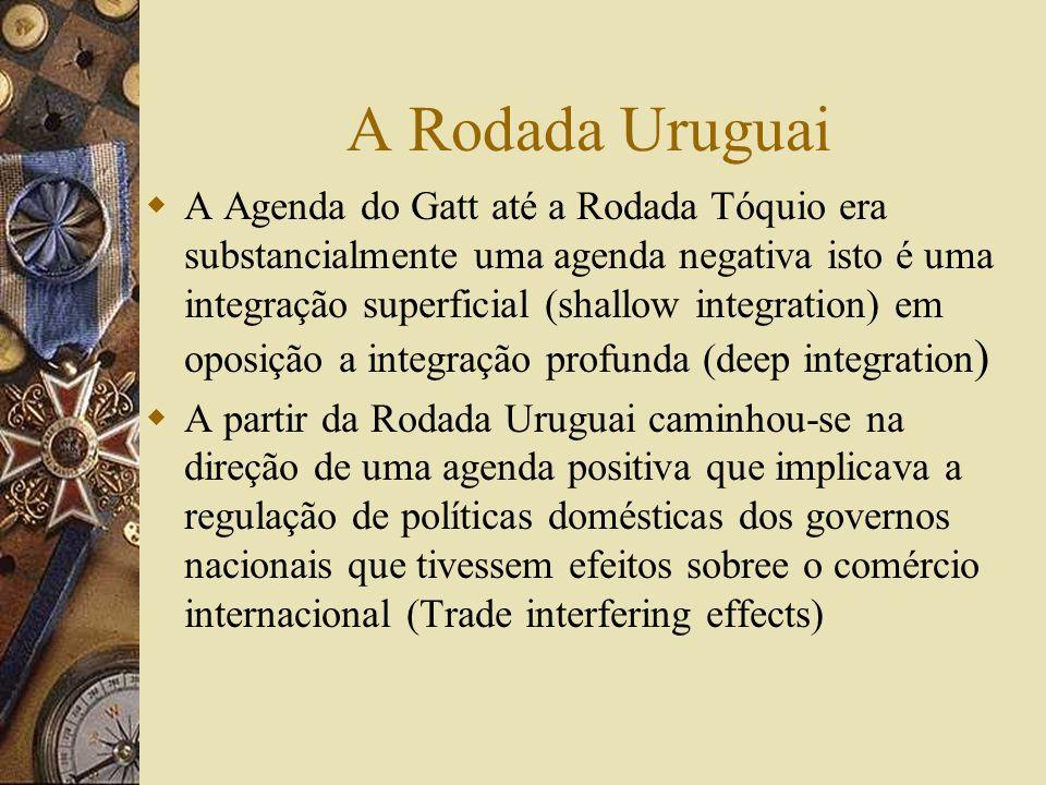 A Rodada Uruguai