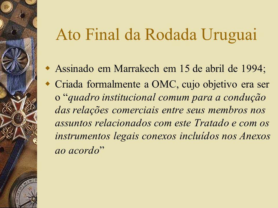Ato Final da Rodada Uruguai