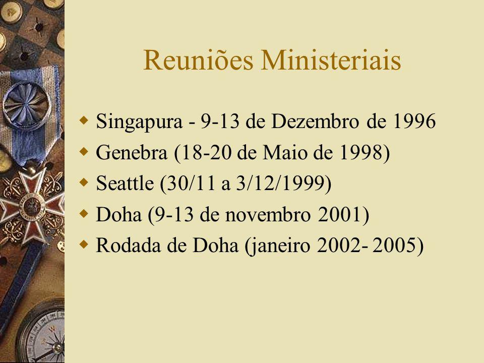 Reuniões Ministeriais