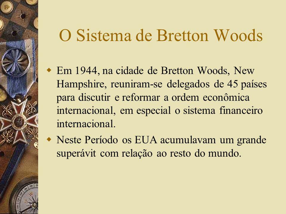 O Sistema de Bretton Woods