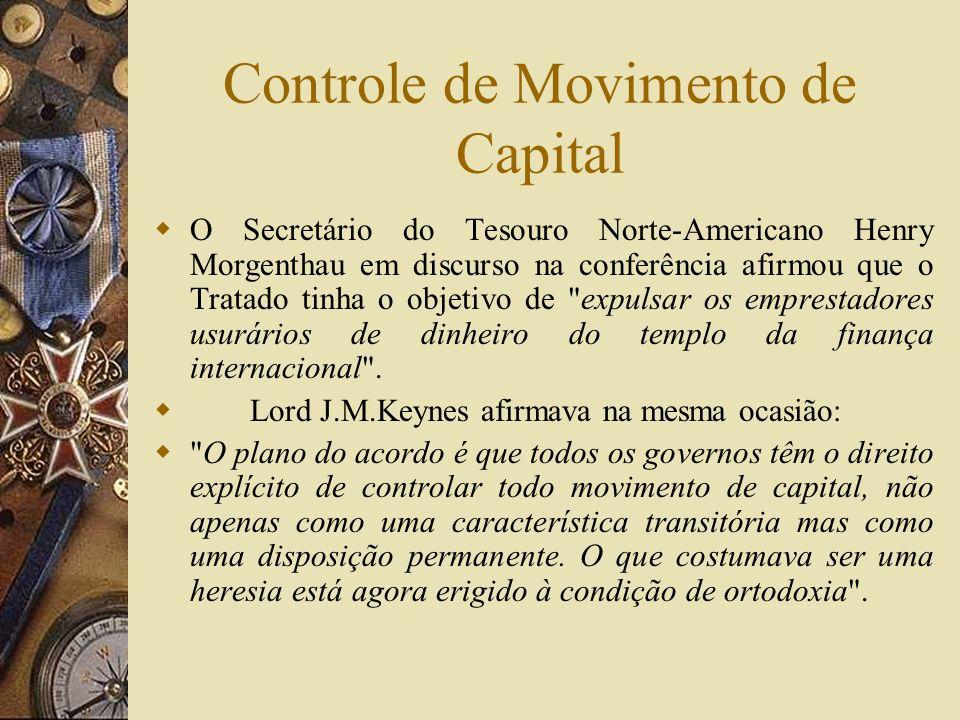 Controle de Movimento de Capital