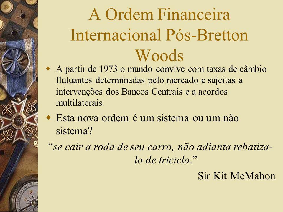 A Ordem Financeira Internacional Pós-Bretton Woods