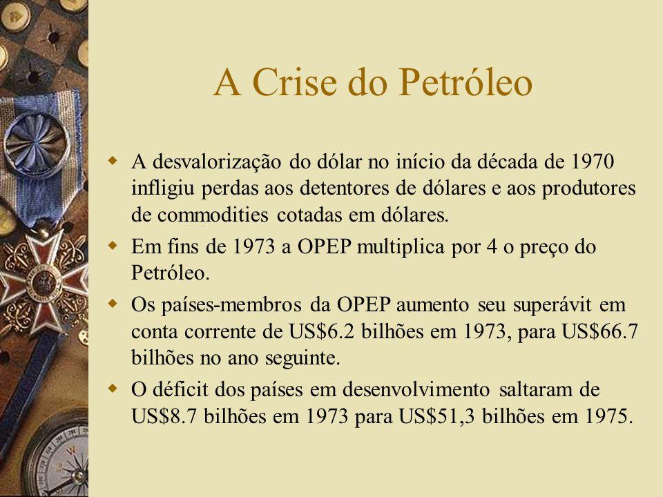A Crise do Petróleo