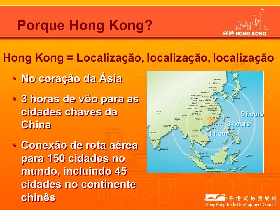Porque Hong Kong Hong Kong = Localização, localização, localização