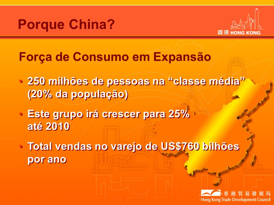 Porque China Força de Consumo em Expansão