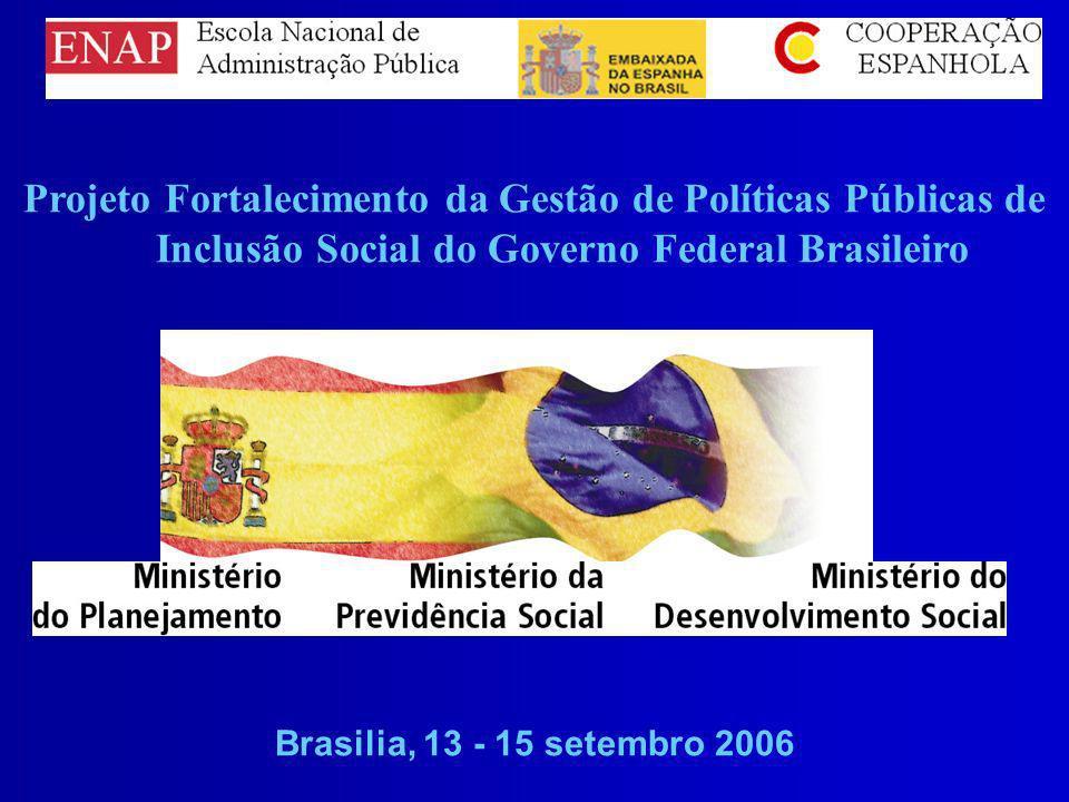 Projeto Fortalecimento da Gestão de Políticas Públicas de Inclusão Social do Governo Federal Brasileiro