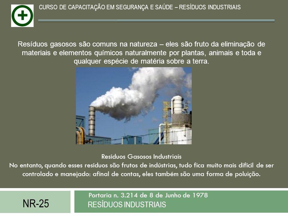 Resíduos Gasosos Industriais