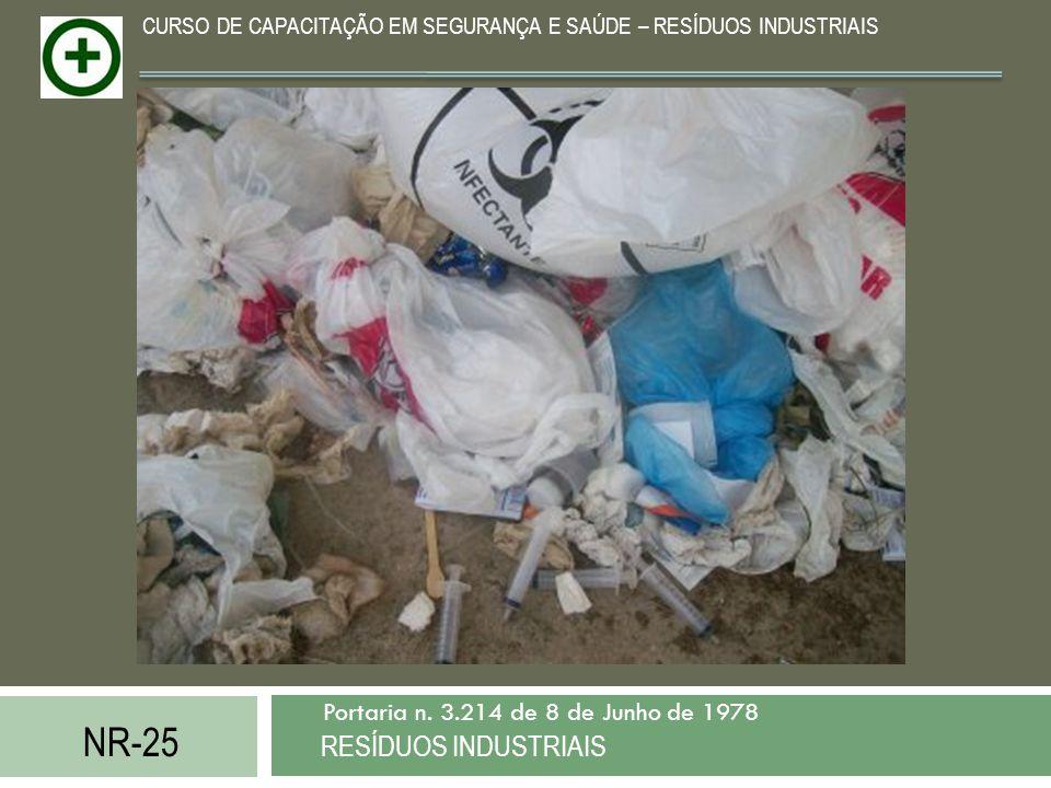 NR-25 RESÍDUOS INDUSTRIAIS