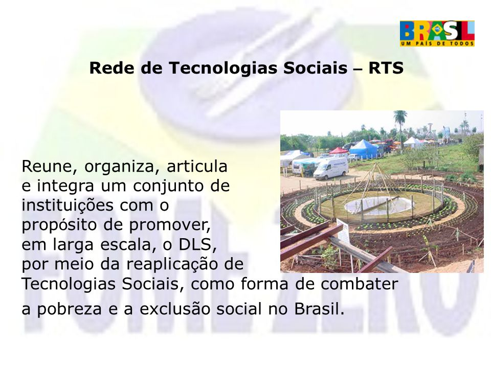 Rede de Tecnologias Sociais – RTS