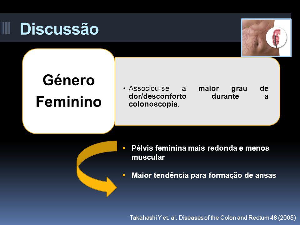 Discussão Género Feminino