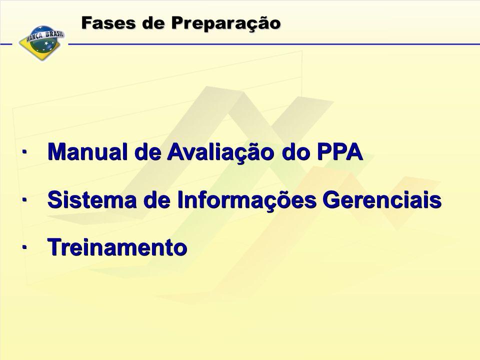 · Manual de Avaliação do PPA · Sistema de Informações Gerenciais