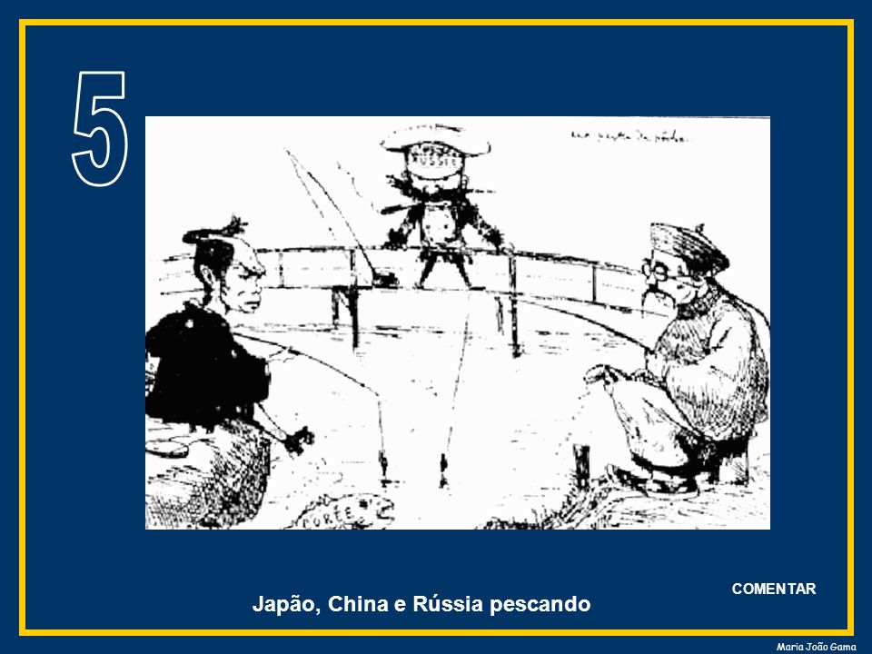 Japão, China e Rússia pescando