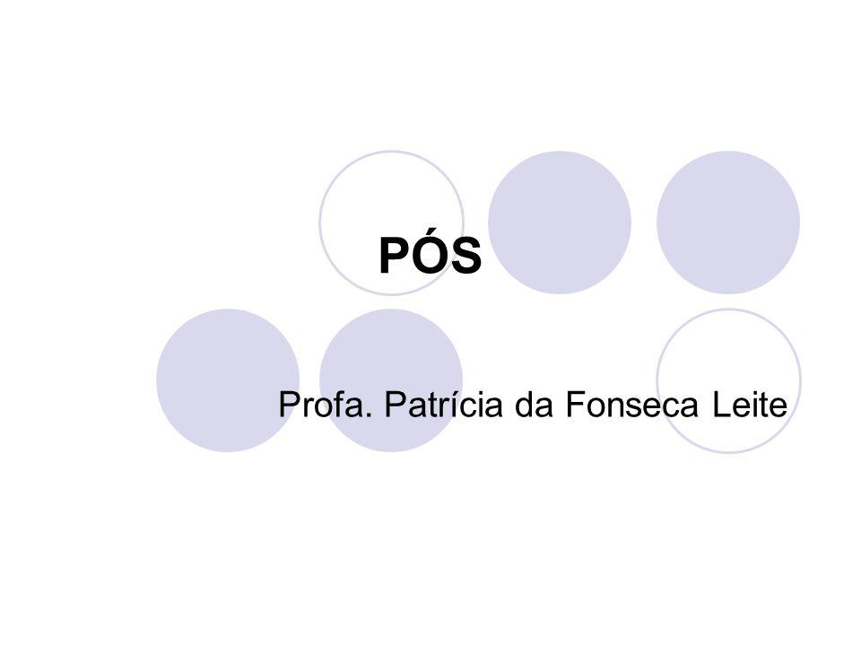Profa. Patrícia da Fonseca Leite