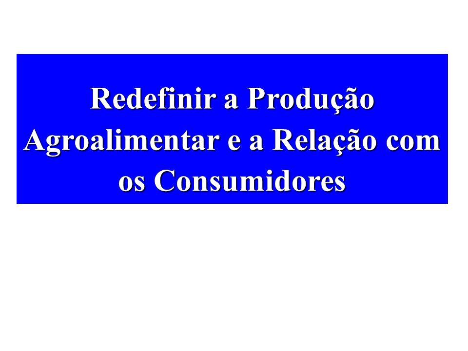 Redefinir a Produção Agroalimentar e a Relação com os Consumidores