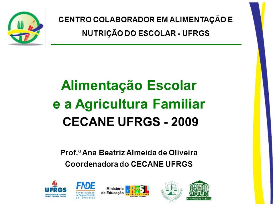 Alimentação Escolar e a Agricultura Familiar